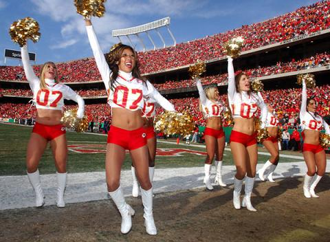 Chiefs Cheerleaders