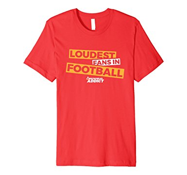ee55efac KC Chiefs: Loudest Fans in the NFL Tee-Shirts on Sale on Amazon