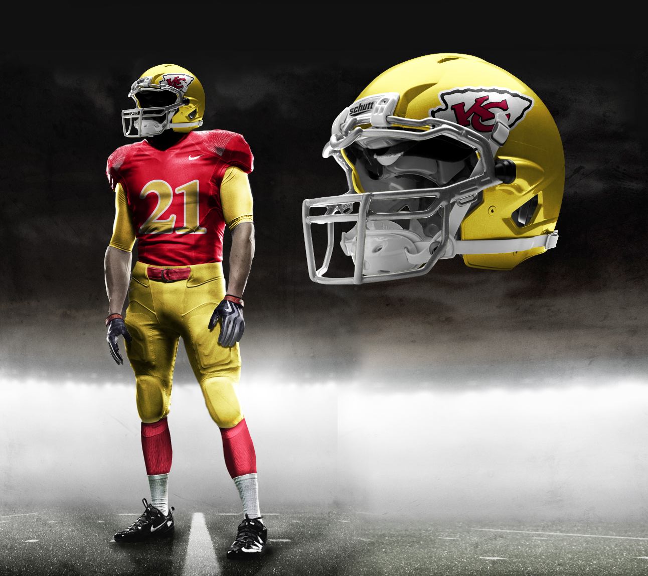 new products b9557 d0513 New Uniforms For The Kansas City Chiefs? UPDATE