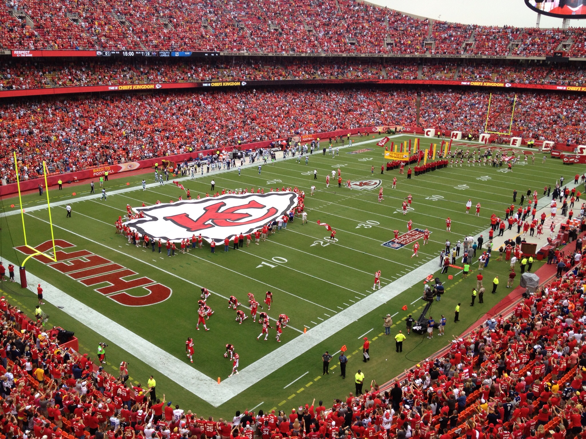 Kansas City Chiefs build excitement with NFL Draft