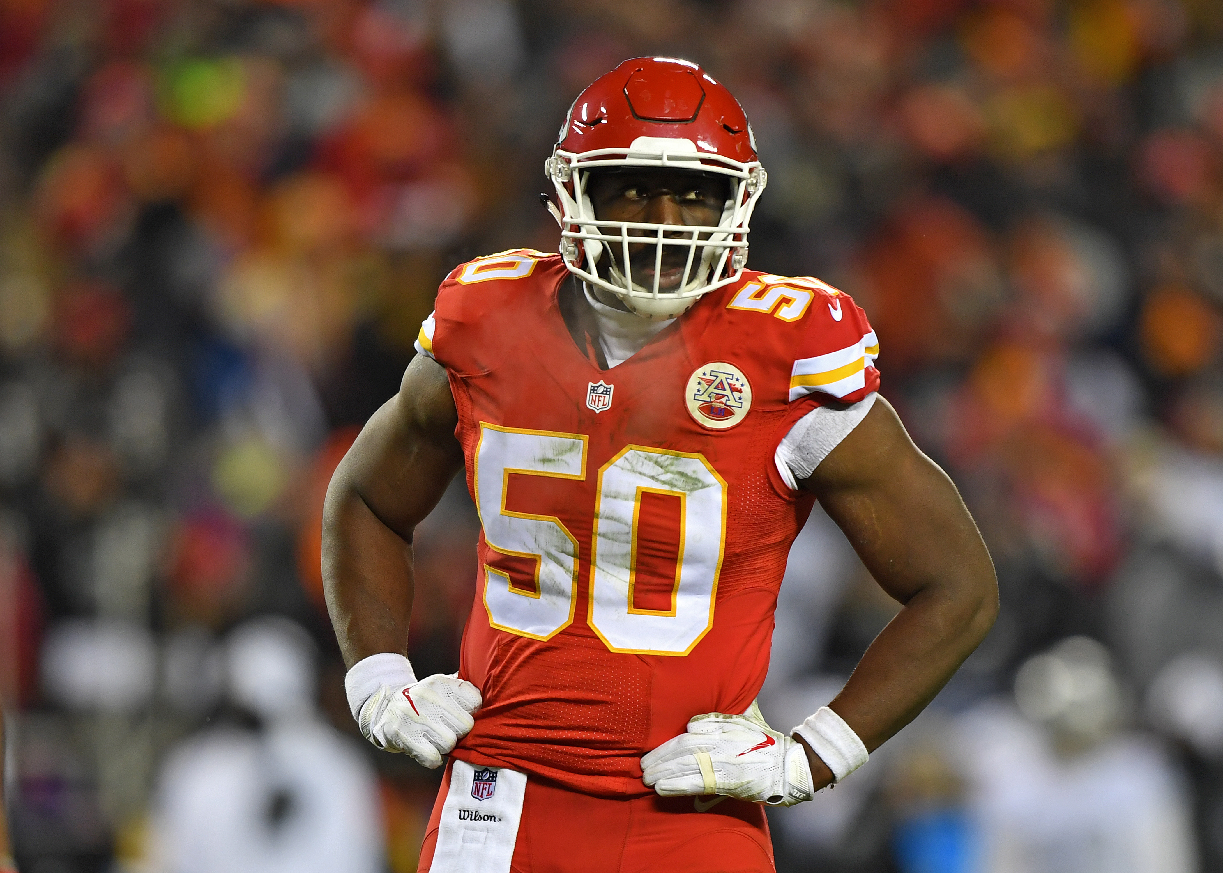 Chiefs trade idea Justin Houston for 49ers 2018 top pick Page 2