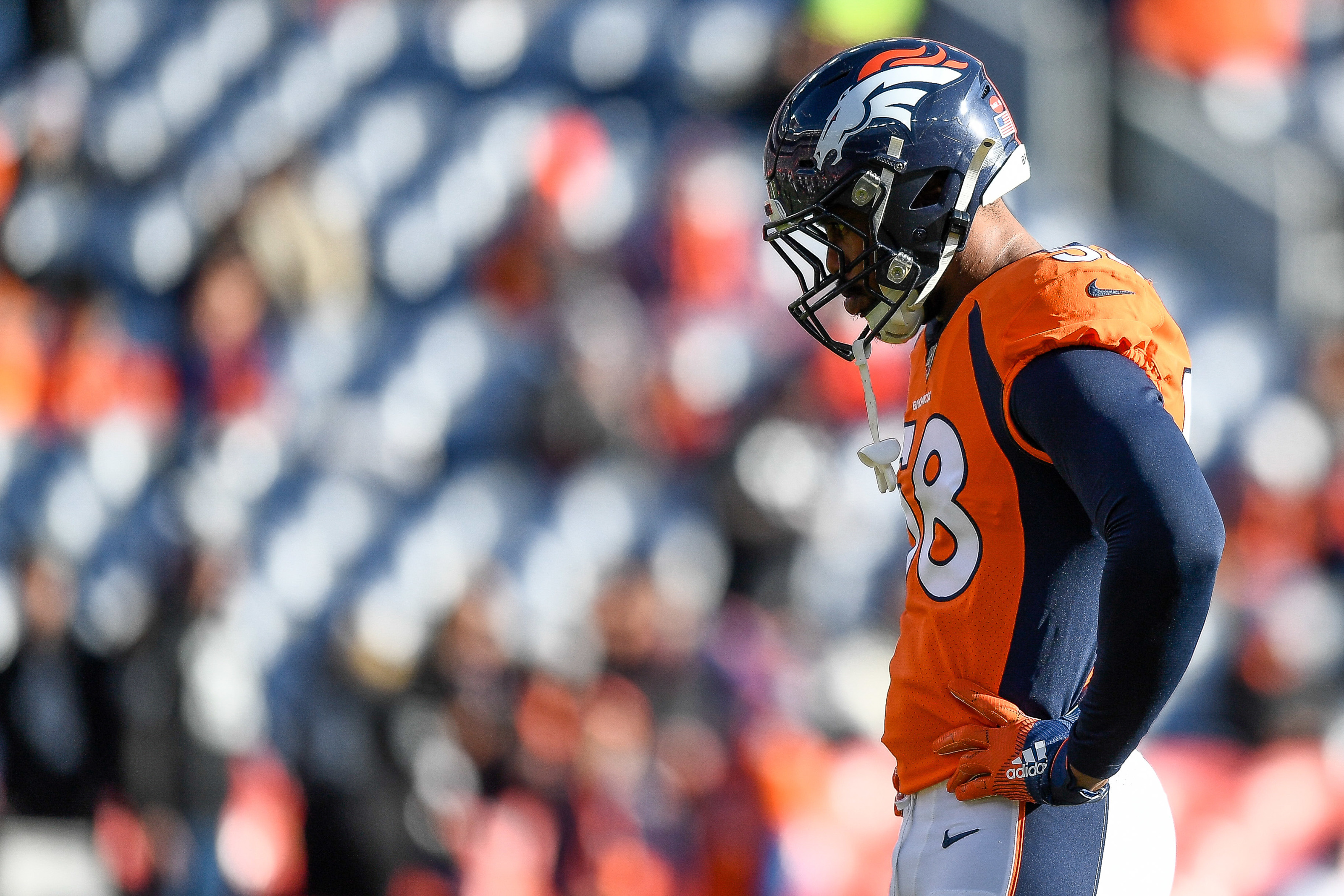 Von Miller is apparently tired of a half-decade of losing to KC Chiefs