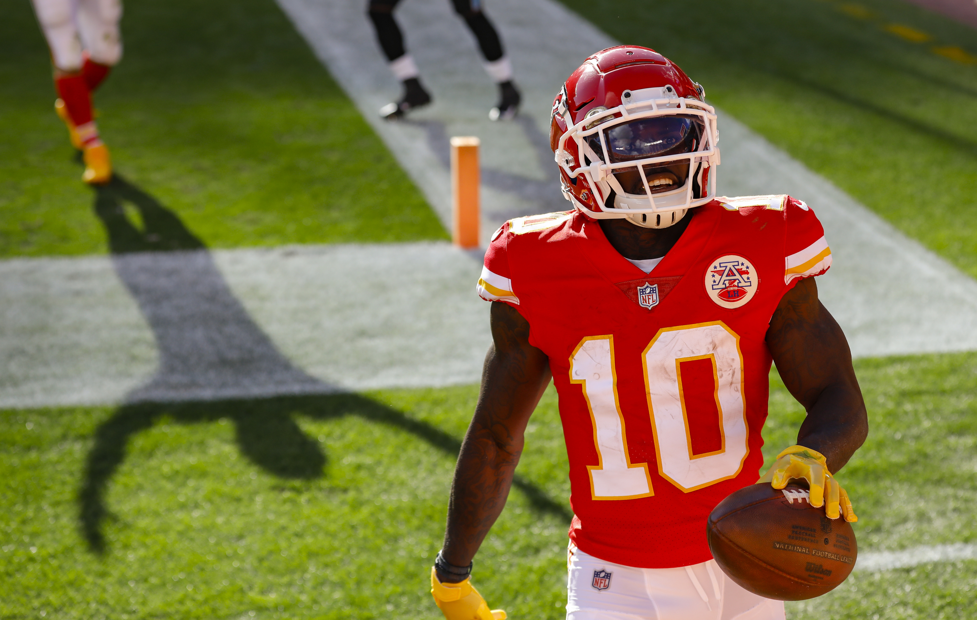 Tyreek Hill is already the greatest Chiefs wide receiver ever